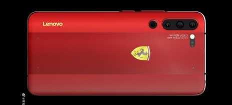 Vice-presidente da Lenovo mostra Z6 Pro Ferrari Edition