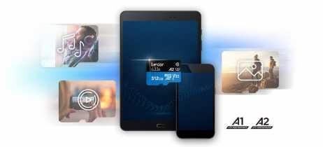 Lexar anuncia cartão microSD A2 de 512GB, maior capacidade já vista na categoria