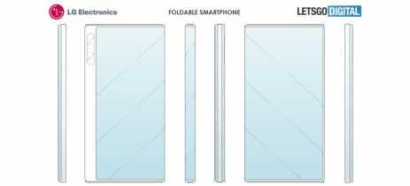 Smartphone dobrável da LG tem design similar ao do Huawei Mate X