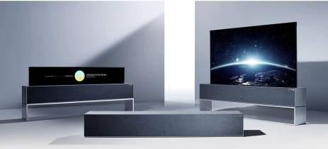 LG está desenvolvendo smart TV com tela rolável que pode se expandir