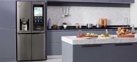 LG apresenta dois novos refrigeradores inteligentes InstaView na CES 2020