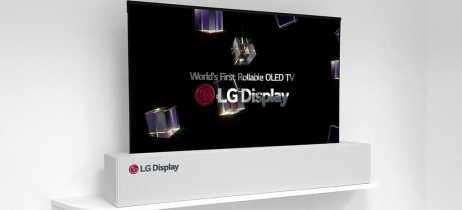 TV da LG que pode ser enrolada chegará ao mercado em 2019 [Rumor]