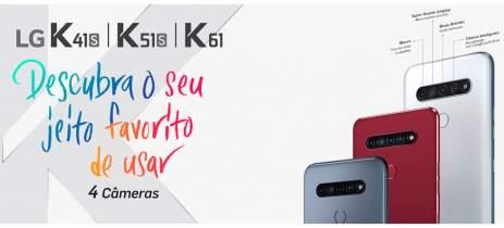 LG faz o lançamento oficial do LG K41S, K51S e K61, a sua série K 2020 de celulares