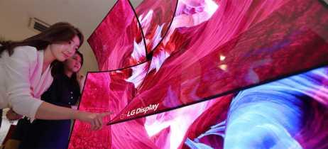 LG apresenta tela de 88 polegadas com som integrado e TV com refresh rate de 3,5 milissegundos