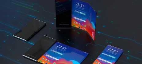 LG registra pedido de patente para smartphone dobrável e com tela enrolável