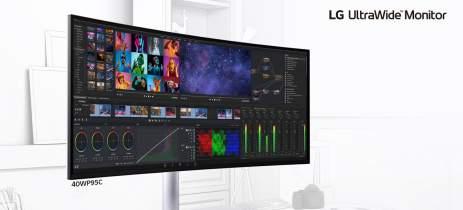 LG anuncia monitor de 40 polegadas com conexão Thunderbolt 4