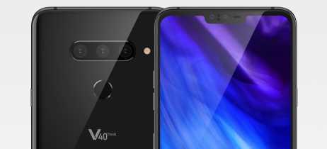 Imagens renderizadas do LG V40 mostram o aparelho de todos os ângulos