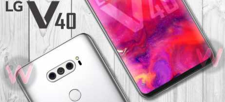 Imagem conceitual do LG V40 mostra a distribuição das cinco câmeras do smartphone [Rumor]