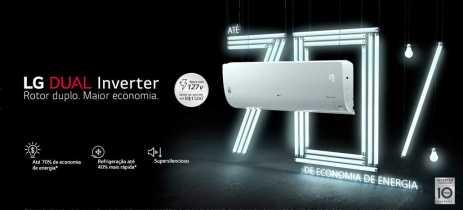 LG apresenta DUAL Inverter ARTCOOL, ar-condicionado Wi-Fi super econômico