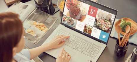 LG apresenta linha Gram 2020, notebooks com até 20h de autonomia