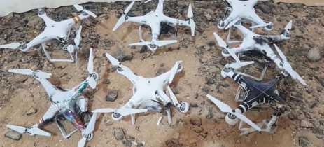 Veja sistema LASER instalado numa SUV derrubando drones