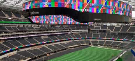 Samsung anuncia maior painel 4K do mundo em estádio de futebol americano
