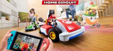 Novo Mario Kart usa RA para misturar carrinhos de controle remoto com vídeo game!