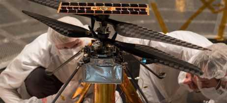 NASA conclui testes de voo do Mars Helicopter e prova que ele pode voar em Marte