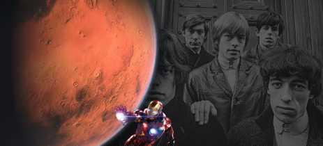 Nasa homenageia os Rolling Stones com uma rocha em Marte!