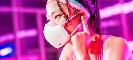 LG atualiza seu modelo de máscara que agora traz microfone e alto-falante