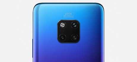 Huawei planeja lançar smartphone com quatro câmeras e zoom óptico de 10x