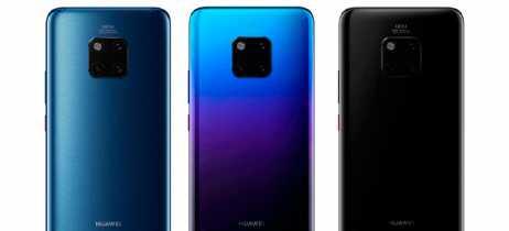 Câmera traseira tripla do Huawei Mate 20 Pro aparece em novos vazamentos