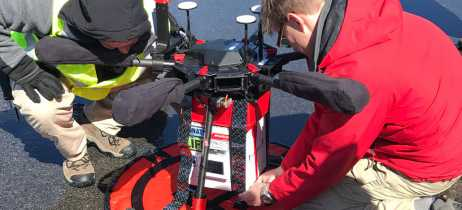 DJI Matrice 600 Pro realiza primeira entrega de um órgão por um drone em teste nos EUA