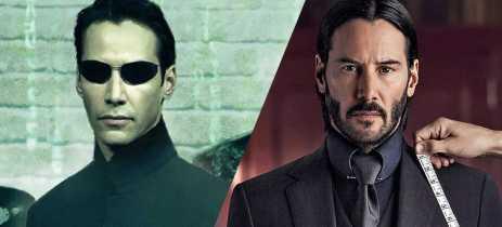 Matrix 4 chega no mesmo dia que John Wick 4 nos cinemas