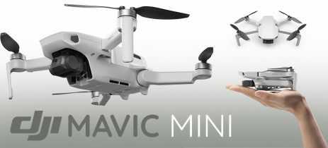 OFICIAL: Drone DJI Mavic Mini cabe na palma da mão, voa por 30 minutos e custa US$399