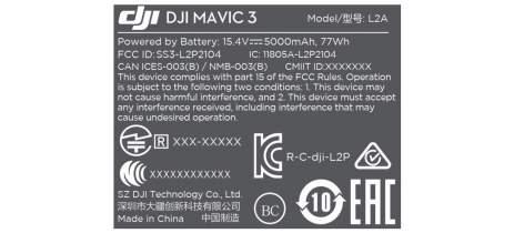 DJI Mavic 3 aparece em certificação e pode ter modelo custando até US$4.649