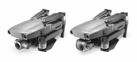 É possível trocar as câmeras dos drones Mavic 2 Pro e Mavic 2 Zoom