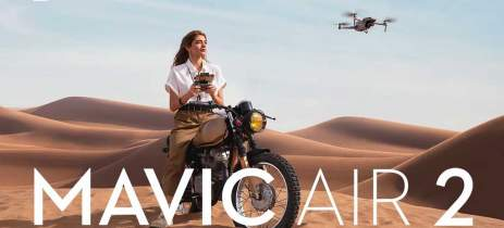 Update do DJI Mavic Air 2 traz novos recursos cinematográficas e desvio de obstáculos