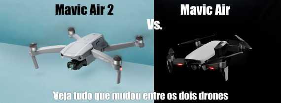 Mavic Air 2 vs Mavic Air - Pelos mesmos $799 novo drone é MUITO superior