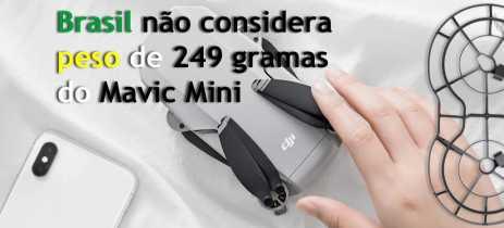 ANAC: Mavic Mini tem mesma legislação que drones acima de 250g no Brasil - ENTENDA