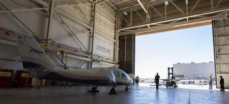 NASA exibe avião elétrico experimental Maxwell X-57