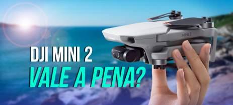 ANÁLISE: Drone DJI Mini 2 - 4K, até 31 minutos de voo e 10Km de distância, precisa mais?