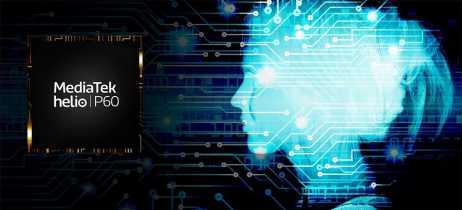 MediaTek está otimizando chip Helio P60 para inteligência artificial