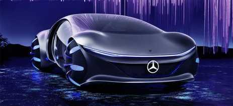 Mercedes apresenta Vision AVTR, carro inspirado pelo filme Avatar