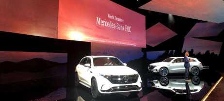 Mercedes-Benz apresenta o EQC, seu primeiro SUV elétrico