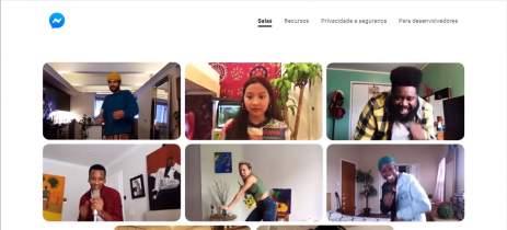 Facebook Messenger Rooms é lançado com videochamadas para até 50 pessoas
