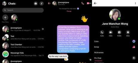 Facebook começa a testar Modo Escuro em app do Messenger