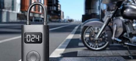 Mi Portable Electric Air Compressor enche pneus de carros e bikes sem esforço