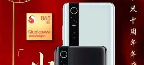 Xiaomi mostra design oficial do celular Mi 10 com Snapdragon 865