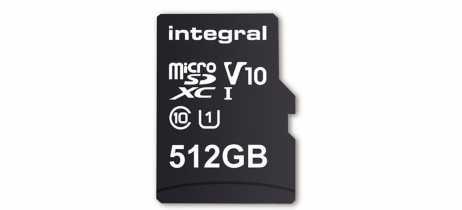 Integral Memory lançará cartão microSD de 512GB em fevereiro