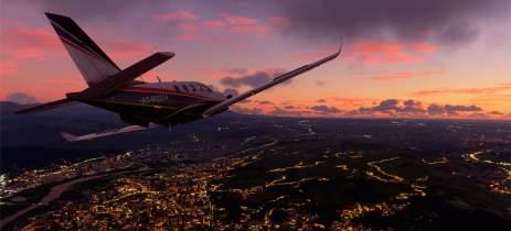 Fãs de Microsoft Flight Simulator estão trocando dados do Bing pelo Google