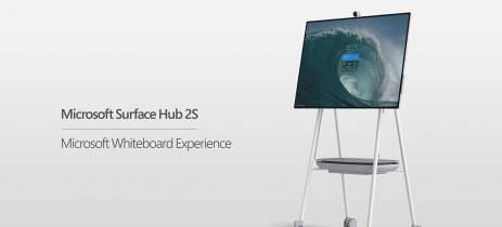Microsoft Surface Hub 2S de 50 polegadas agora suporta Windows 10 Pro e Enterprise