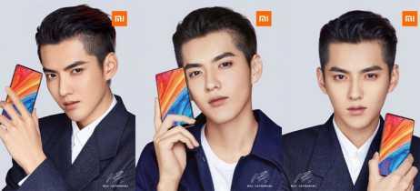 Teaser do Xiaomi Mi Mix 2s mostra smartphone sem câmera frontal no topo