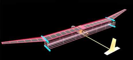 Cientistas criam modelo de avião que voa com