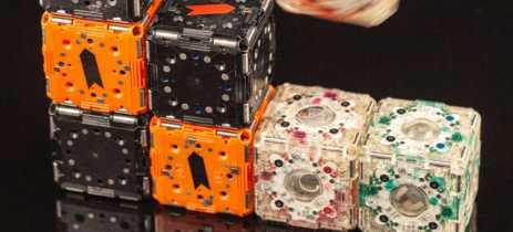 Conheça os M-Block 2.0, pequenos blocos que na verdade são robôs que podem se montar