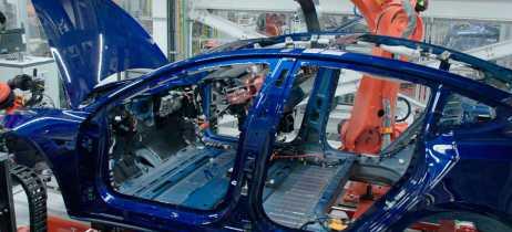 Vídeo mostra processo de montagem do Tesla Model 3 do começo até o final em 1ª pessoa