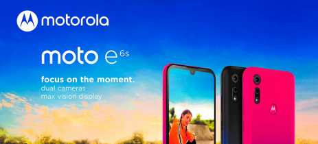 Motorola anuncia chegada do Moto E6s no Brasil pelo valor de R$ 949
