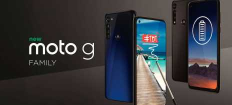 Motorola apresenta suas novas opções de smartphones para o mercado: Moto G Stylus e Moto G Power