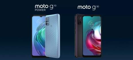 Moto G10 Power aparece em teaser oficial e mostra que é diferente do Moto G10
