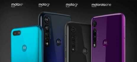 Motorola apresenta Moto One Macro, G8 Plus, G8 Play e E6 Play